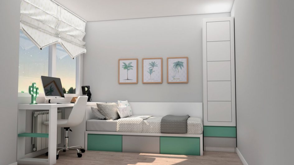 Dormitorio Juvenil TATAMI - Ref: 0492