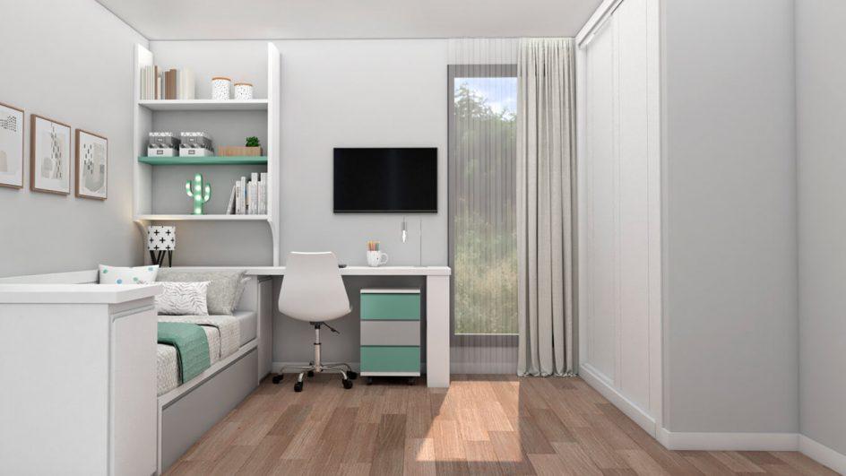 Dormitorio Juvenil TATAMI - Ref: 0490