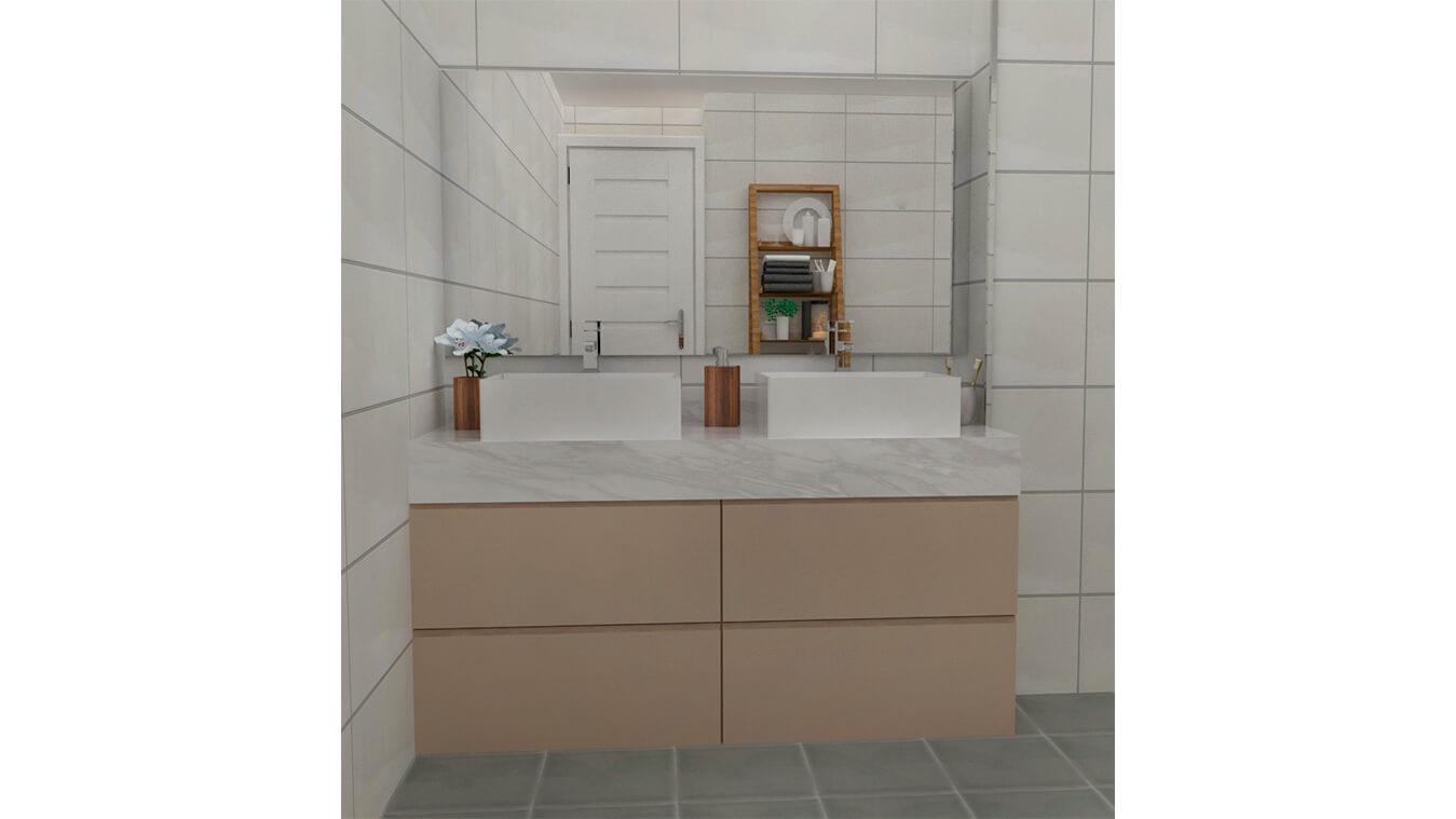 Mueble de Baño - Ref: 0001