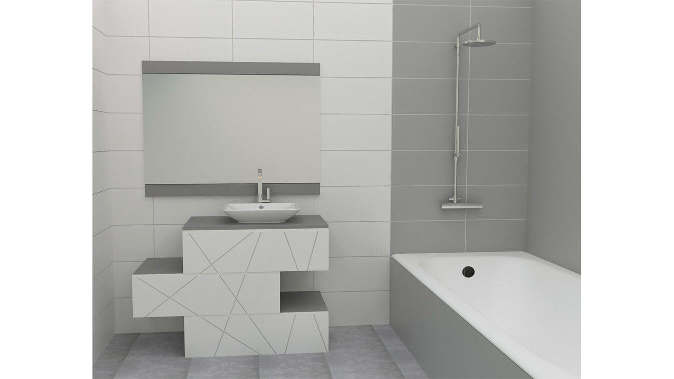 Mueble de Baño - Ref: 0004