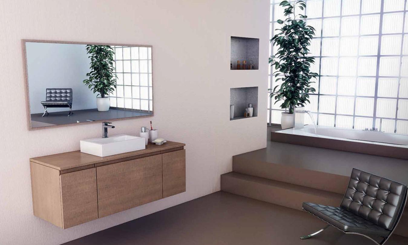 Mueble de Baño MADERA ROBIE TOSTADO - DARK OAK - Ref. 0021