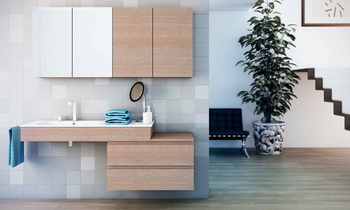Mueble de Baño STRATO CACAO - Ref. 0027
