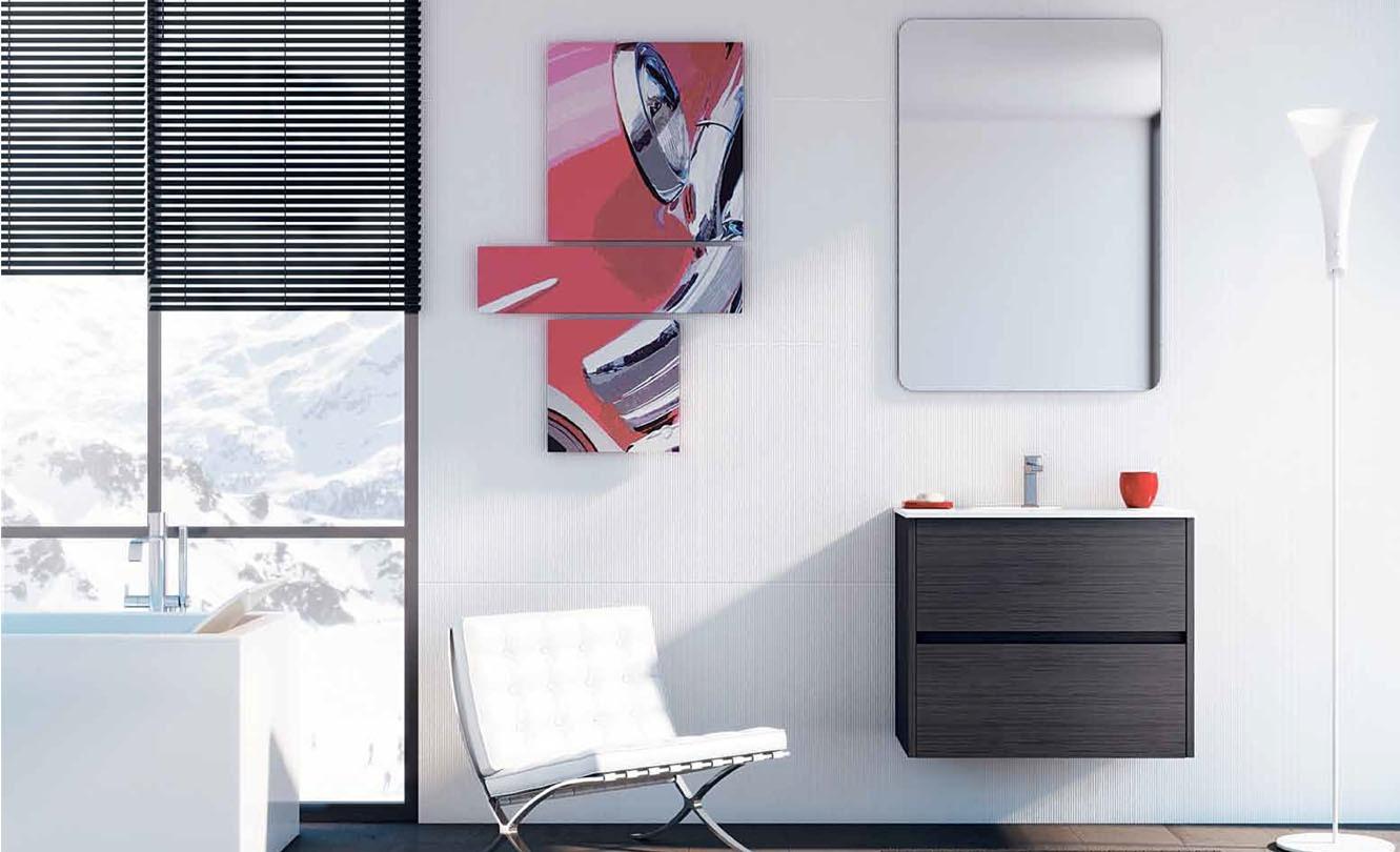 Mueble de Baño STRATO DARK GREY - Ref. 0028