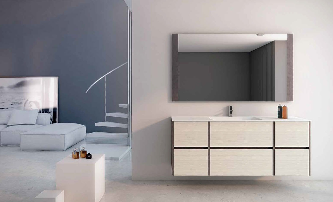 Mueble de Baño STRATO COFEE - STREATO CREAM- Ref. 0029