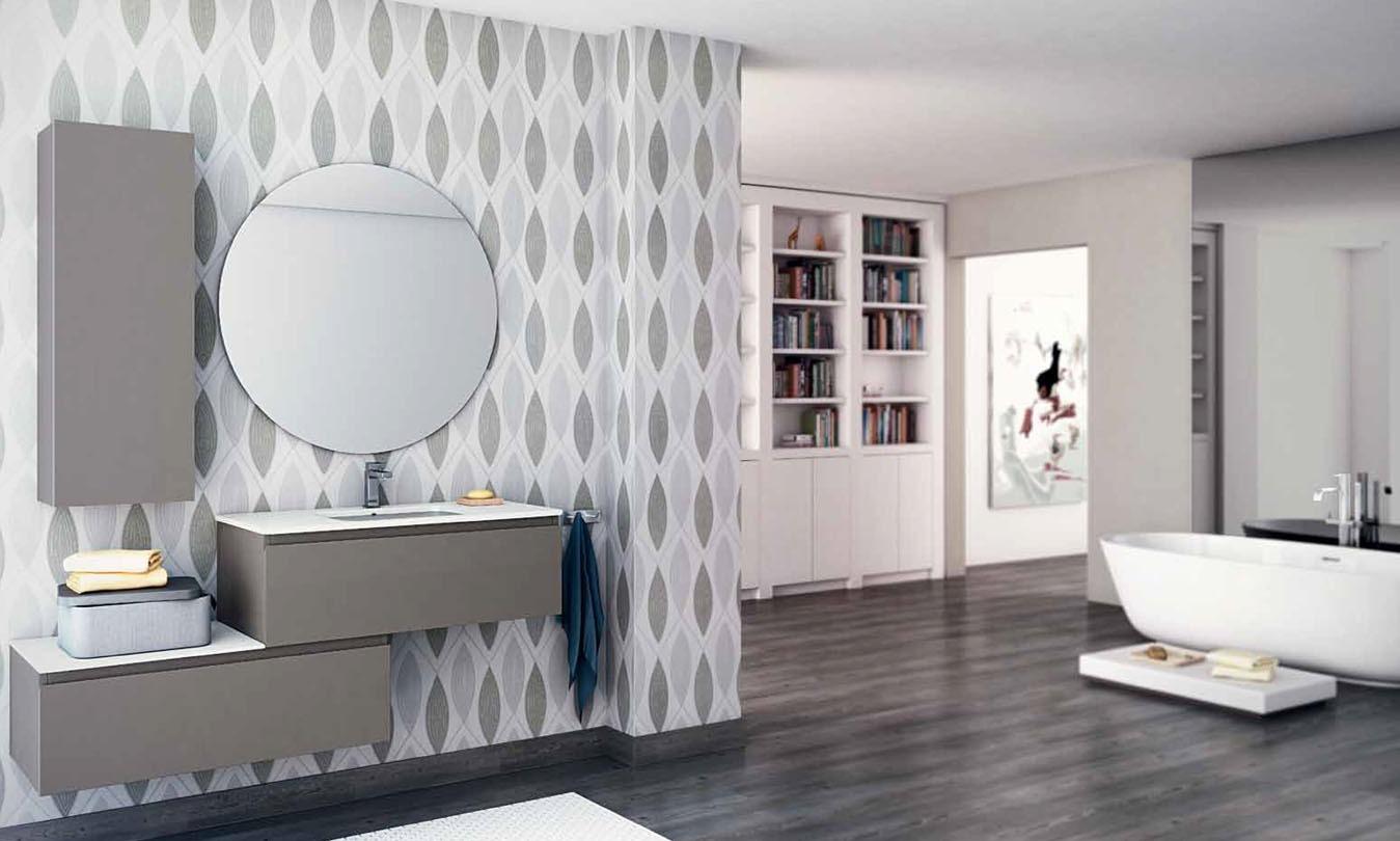 Mueble de Baño LACADO OCRE BRILLO - Ref. 0034