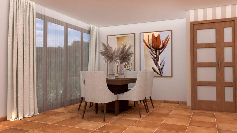 Salón modelo GRANITO SOLAPADO - Ref: 0283