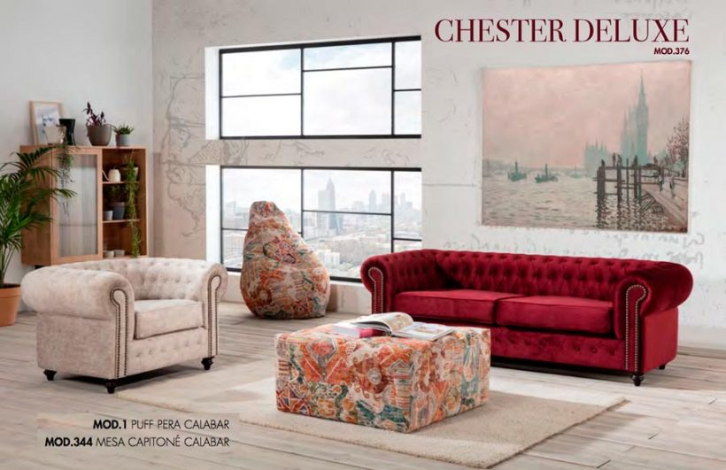 SOFAS TC CHESTER DELUXE MOD.376