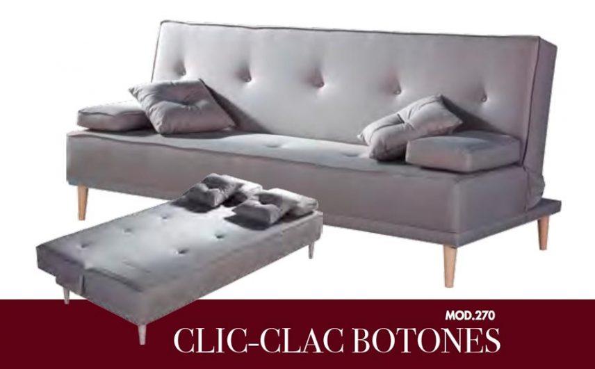 SOFAS TC CLIC-CLAC BOTONES MOD.270