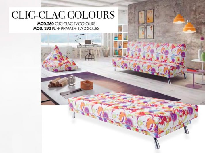 SOFAS TC CLIC-CLAC COLOURS