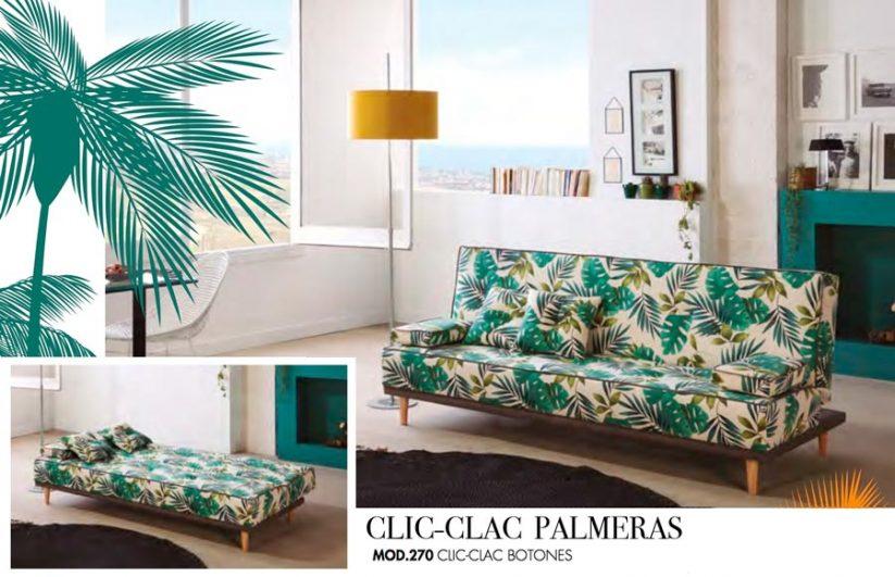 SOFAS TC CLIC-CLAC PALMERAS MOD.270