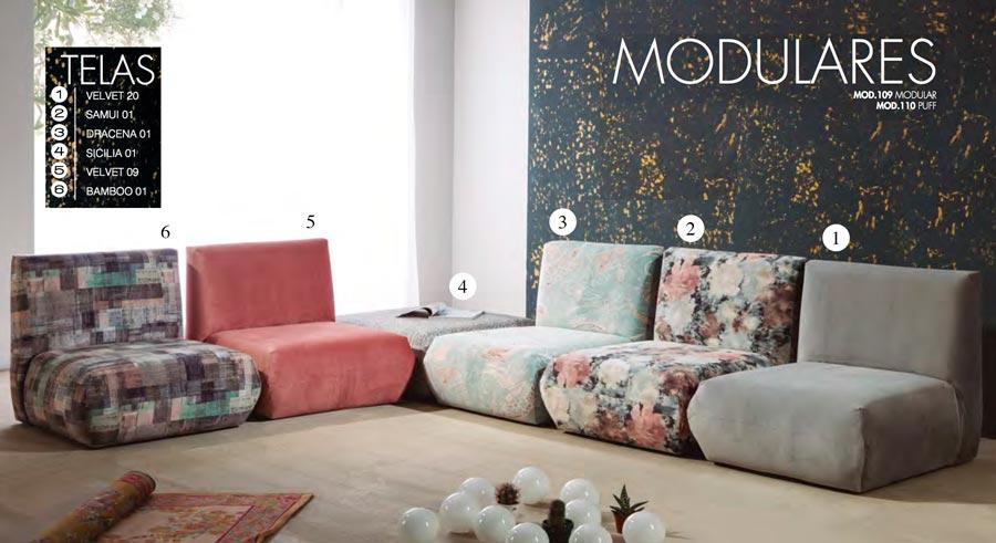 SOFAS TC MODULARES MOD.109-110