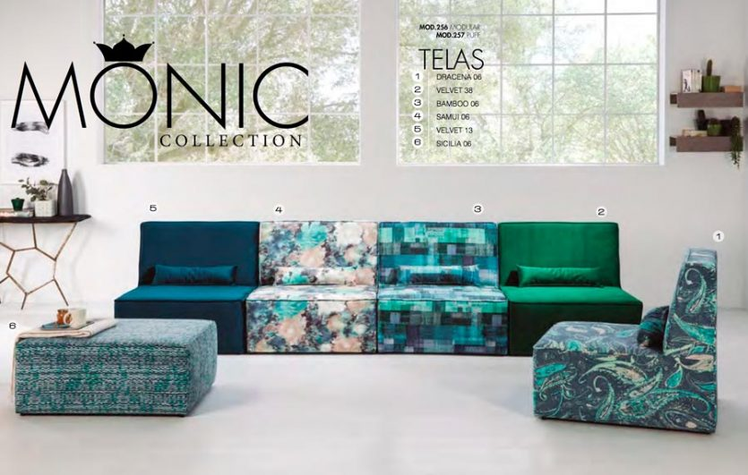 SOFAS TC MONIC COLLECTION MOD.256-257