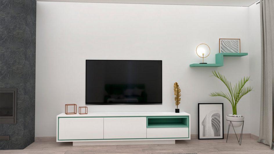 Salón modelo MODERNO - Ref: 0796