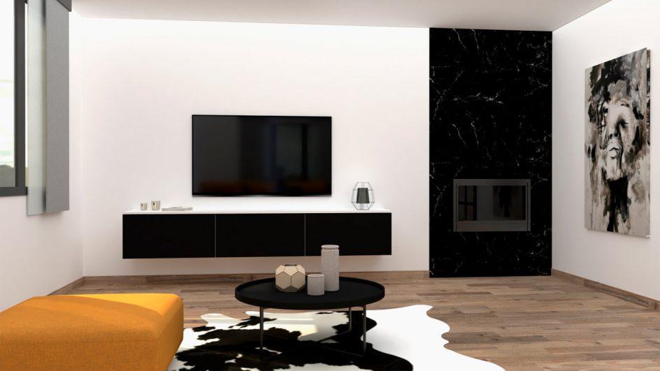 Salón modelo MODERNO - Ref: 0788