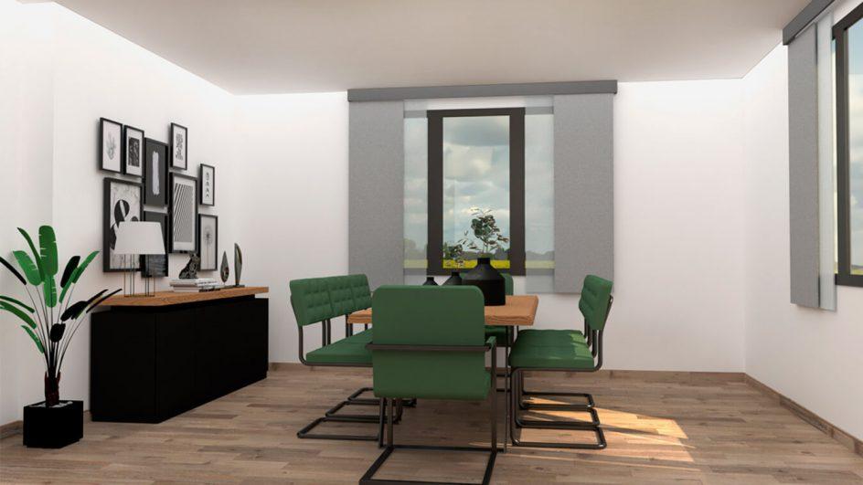 Salón modelo MODERNO - Ref: 0789