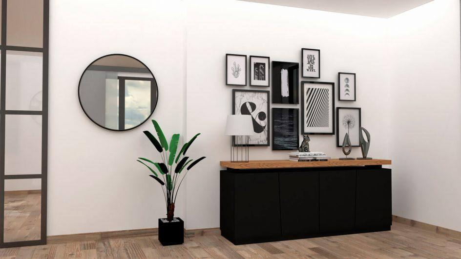 Salón modelo MODERNO - Ref: 0790