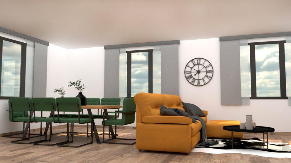 Salón modelo MODERNO - Ref: 0791