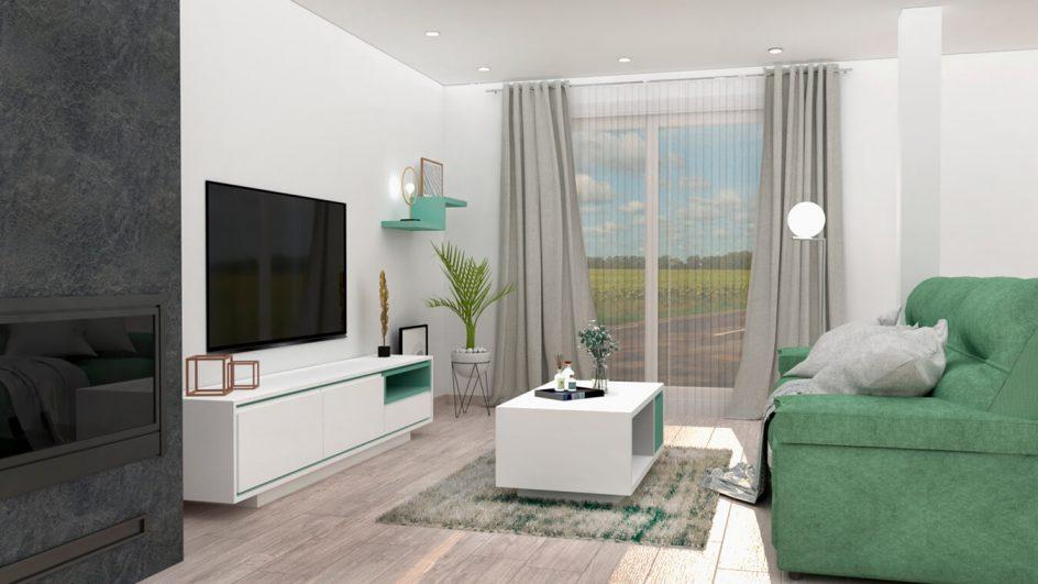 Salón modelo MODERNO - Ref: 0798