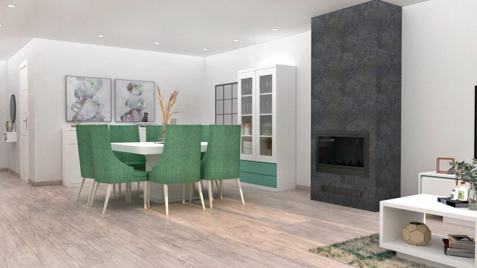 Salón modelo MODERNO - Ref: 0799