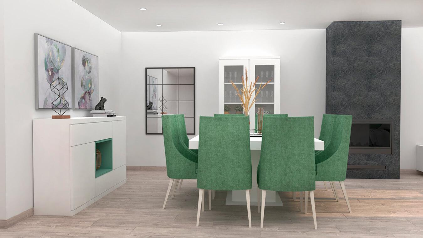 Salón modelo MODERNO - Ref: 0800