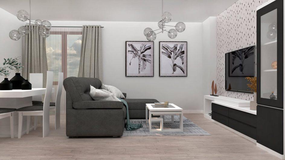Salón modelo MODERNO - Ref: 0794