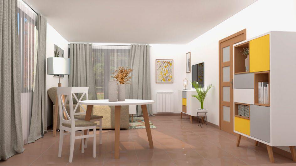 Salón modelo CELTA - Ref: 0498