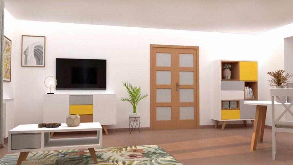 Salón modelo CELTA - Ref: 0497