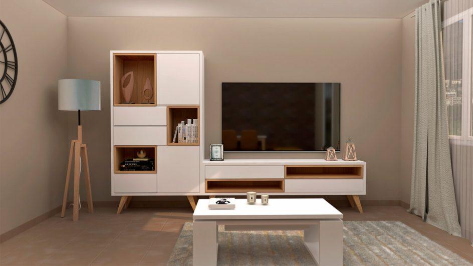 Salón modelo CELTA - Ref. 0536