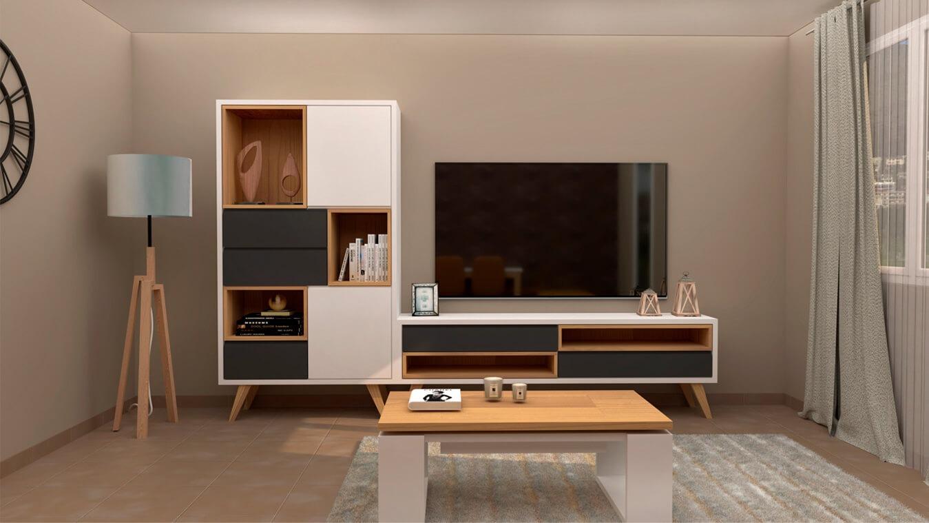 Salón modelo CELTA - Ref. 0539