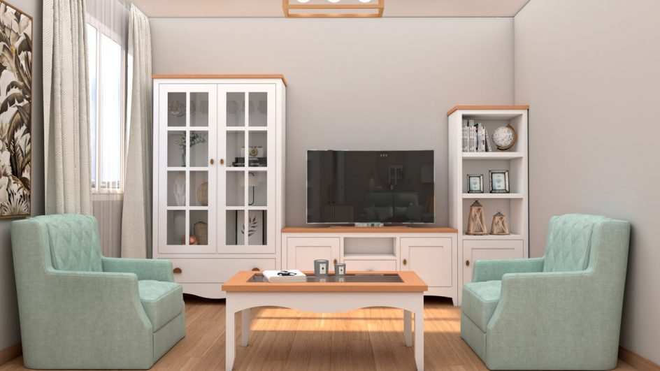 muebles de salon madera de pino