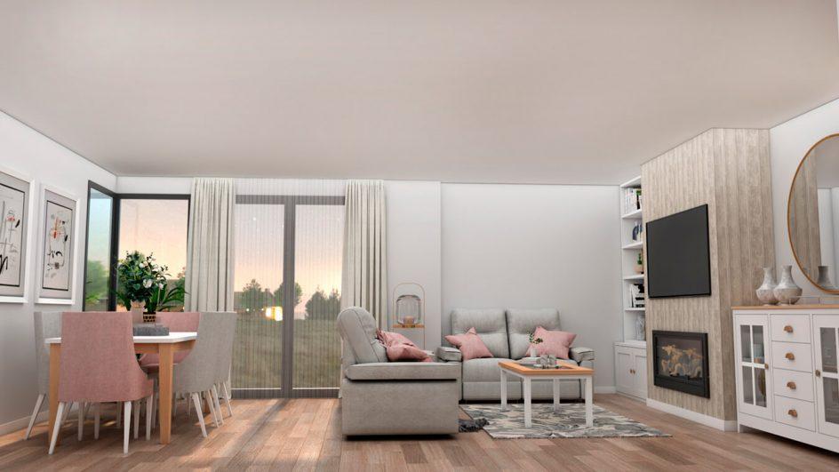 Salón modelo ISABELLA - Ref: 0389
