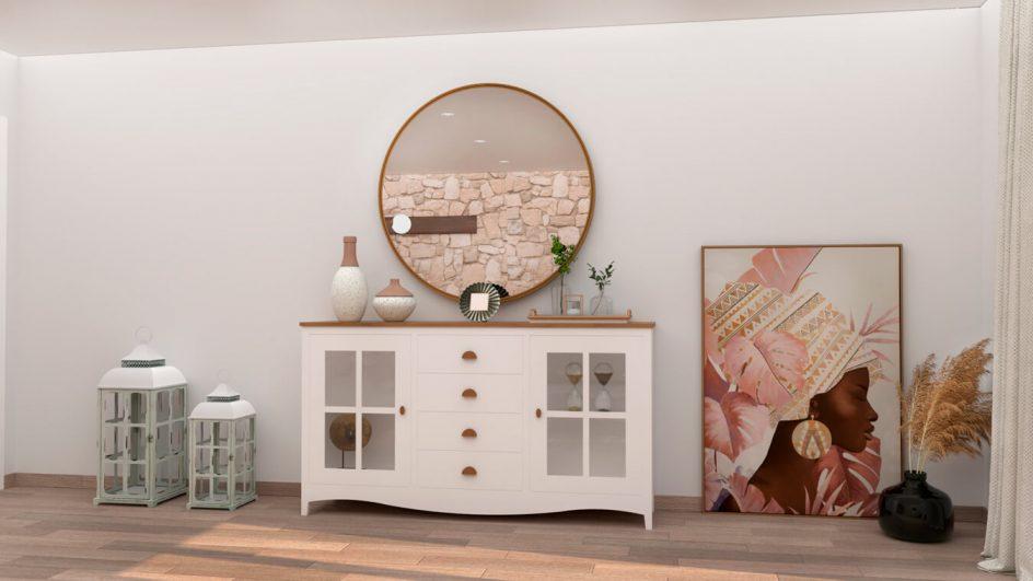 Salón modelo ISABELLA - Ref: 0398