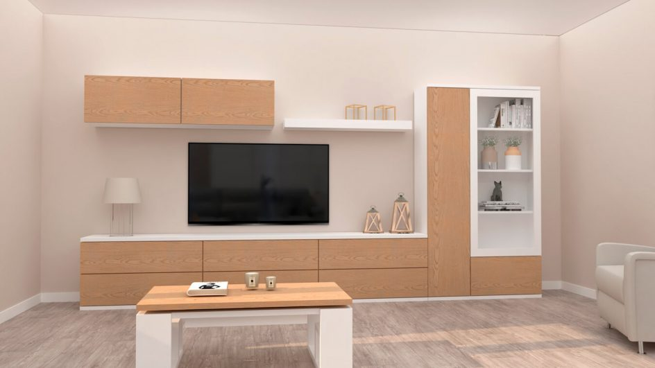 Salón modelo MODERNO - Ref: 0786