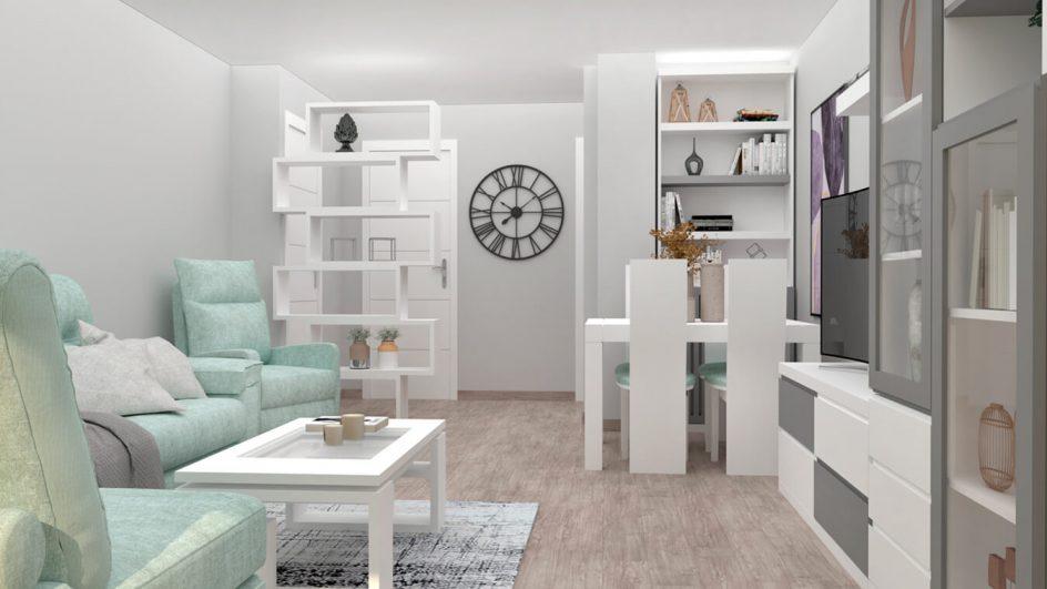 Salón modelo MODERNO - Ref: 0784