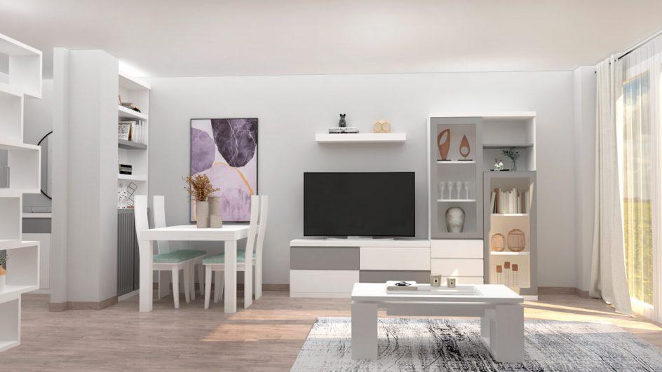 Salón modelo MODERNO - Ref: 0783