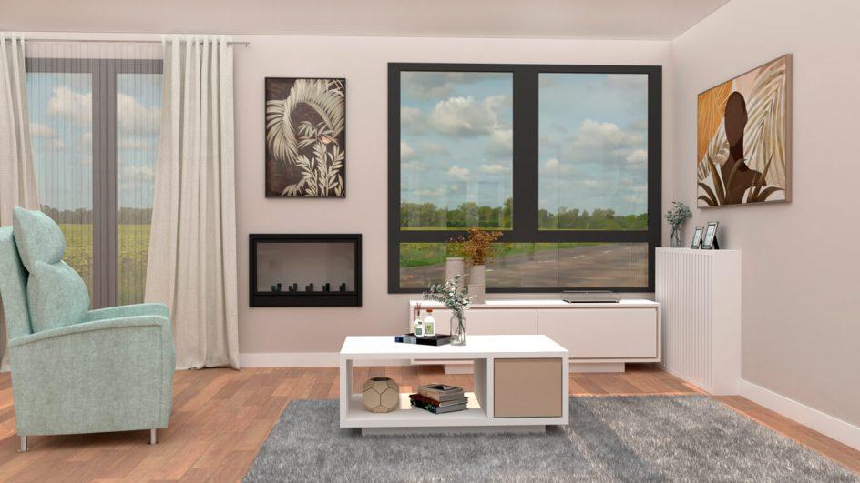 Salón modelo MODERNO - Ref: 0777