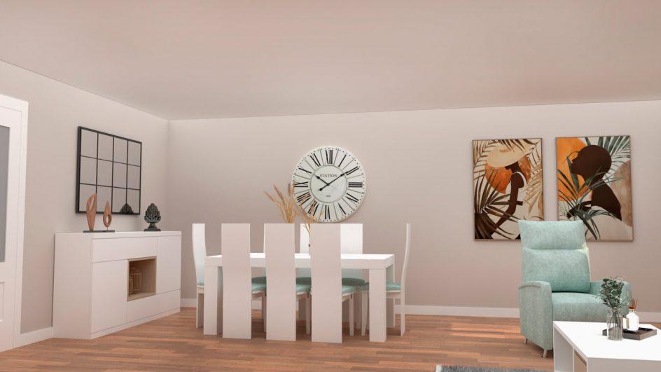 Salón modelo MODERNO - Ref: 0778