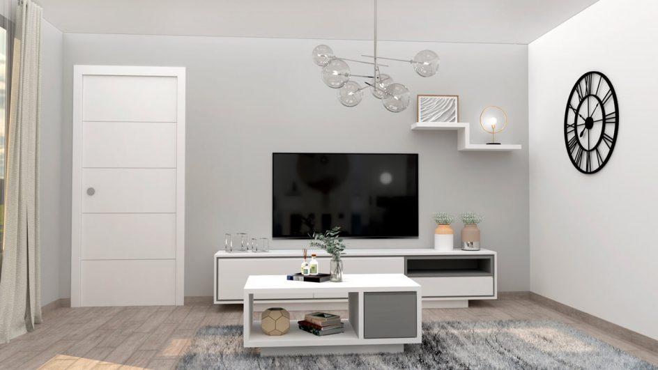Salón modelo MODERNO - Ref: 0780