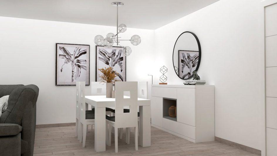 Salón modelo MODERNO - Ref: 0781