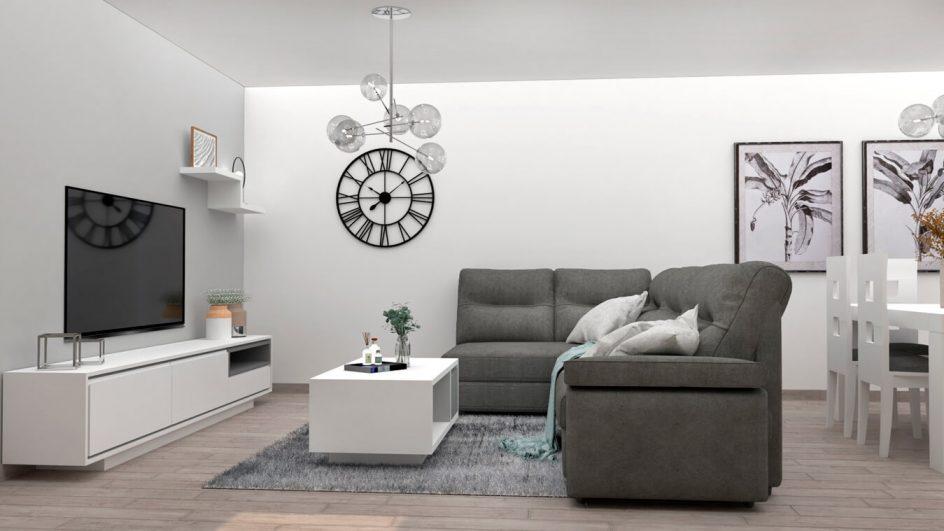 Salón modelo MODERNO - Ref: 0782