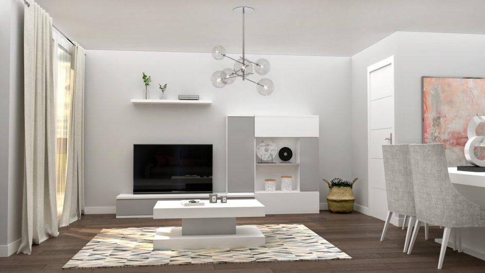 Salón modelo MODERNO - Ref: 0771