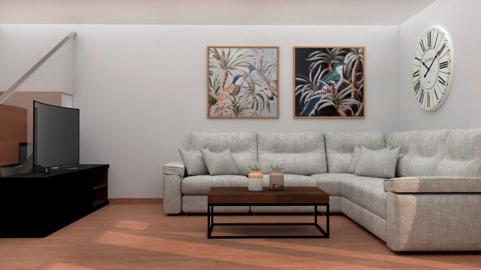 Salón modelo MODERNO - Ref: 0775