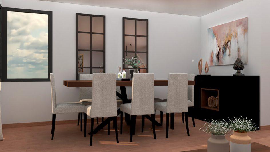 Salón modelo MODERNO - Ref: 0776