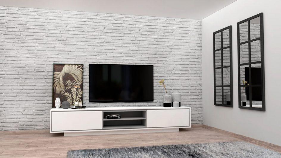 salon moderno para television