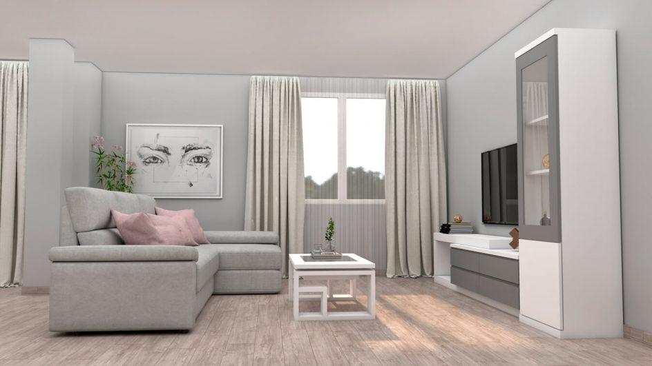 Salón modelo MODERNO - Ref: 0759