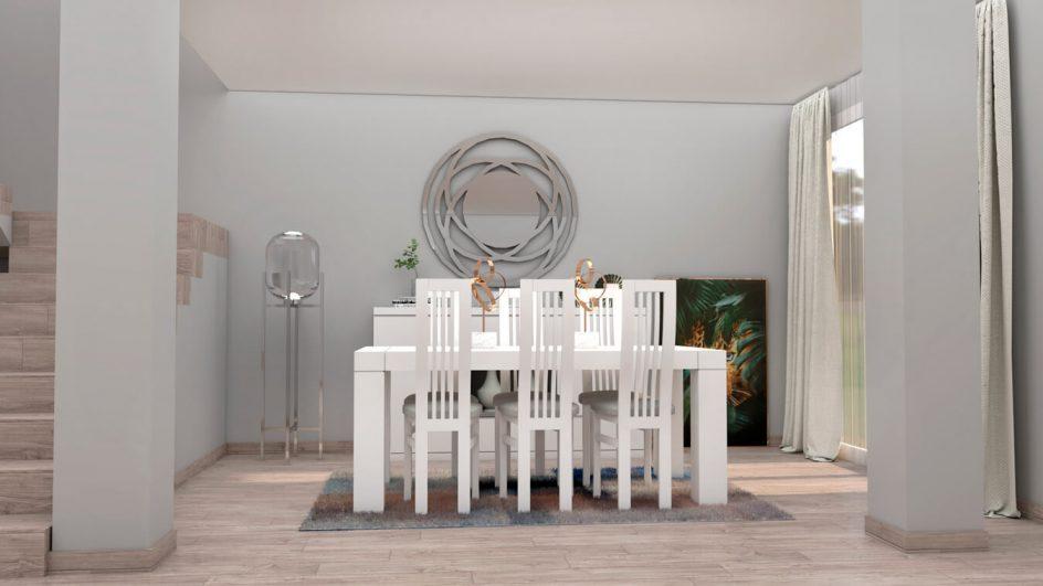 Salón modelo MODERNO - Ref: 0760