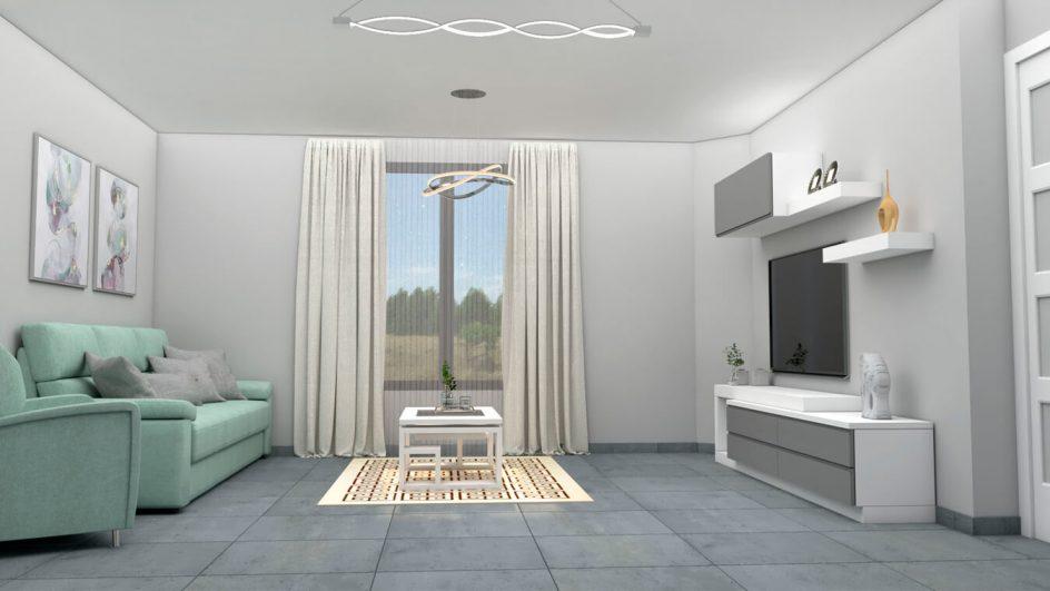 Salón modelo MODERNO - Ref: 0762