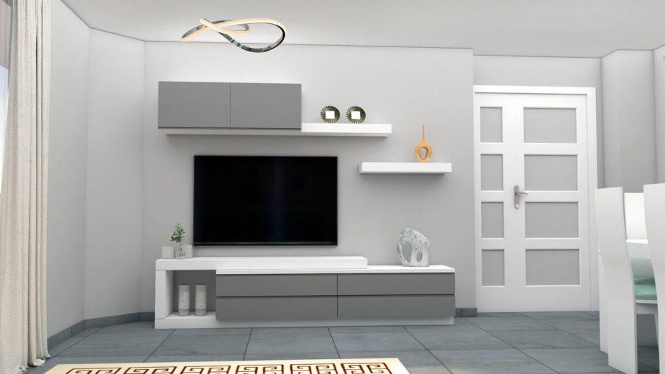 Salón modelo MODERNO - Ref: 0761