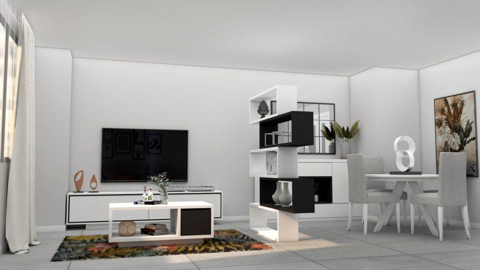 Salón modelo MODERNO - Ref: 0757