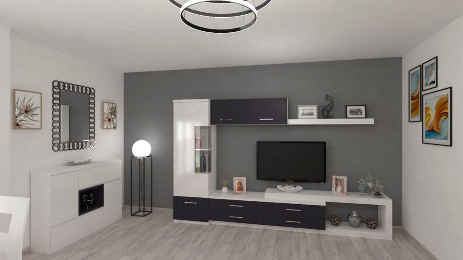 Salón modelo MODERNO - Ref: 0765